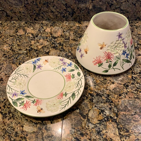 Yankee Candle Shade and Saucer